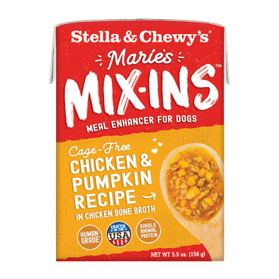 Dog Marie's Mix-Ins, Cage-Free Chicken & Pumpkin Recipe - 156 g