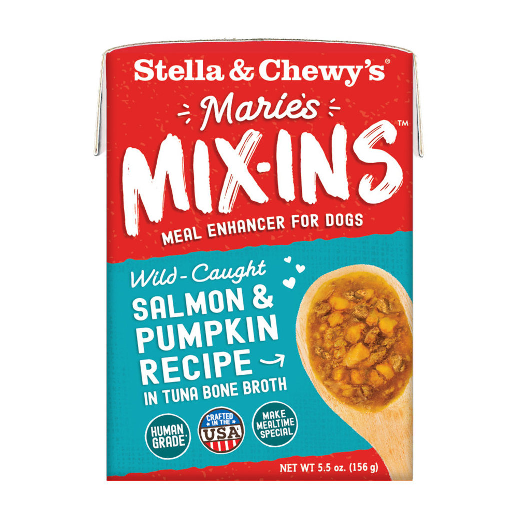 View larger image of Dog Marie's Mix-Ins, Wild-Caught Salmon & Pumpkin Recipe - 156 g