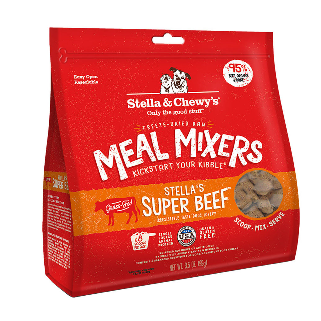 View larger image of Dog Freeze-Dried Raw, Super Beef Meal Mixers