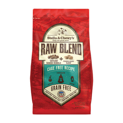 Dog Raw Blend Kibble, Cage-Free Recipe