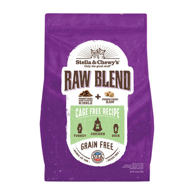 Cat Raw Blend Kibble, Cage-Free Poultry Recipe