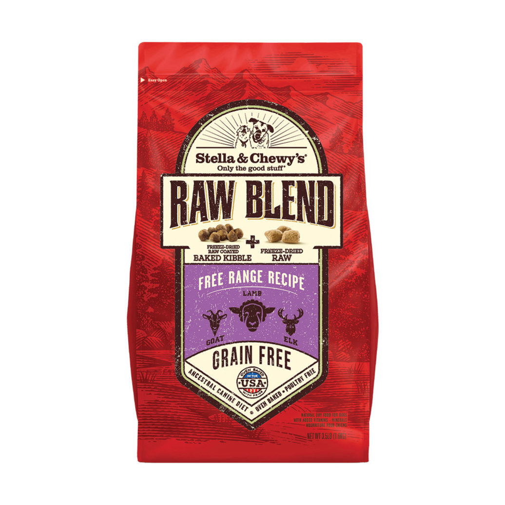 View larger image of Dog Raw Blend Kibble, Free Range Recipe
