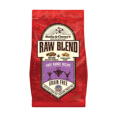 Dog Raw Blend Kibble, Free Range Recipe