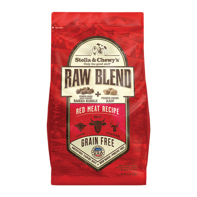 Dog Raw Blend Kibble, Red Meat Recipe