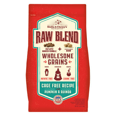Dog Raw Blend Kibble With Wholesome Grains, Cage Free Recipe