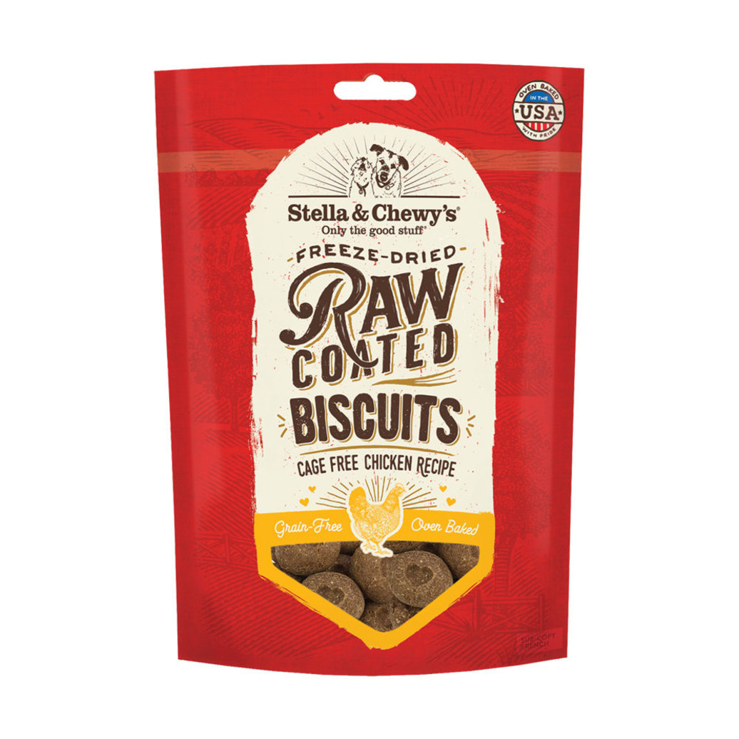 View larger image of Raw Coated Biscuits, Chicken Recipe - 255 g