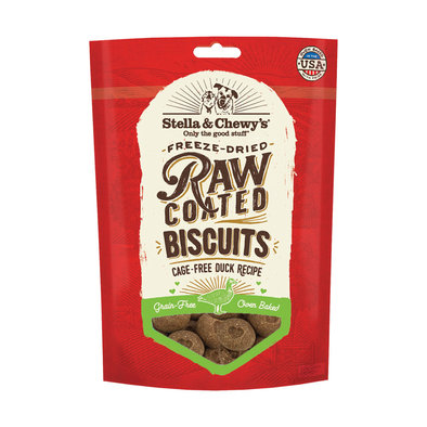 Raw Coated Biscuits Cage Free Duck Recipe - 255 g