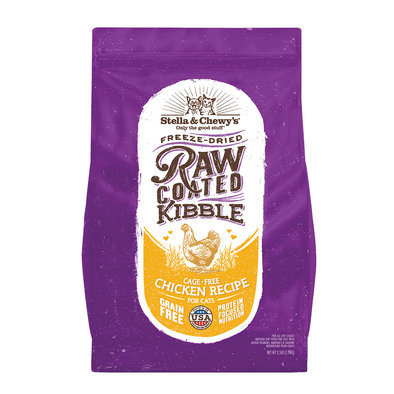 Cat Raw Coated Kibble, Cage-Free Chicken Recipe