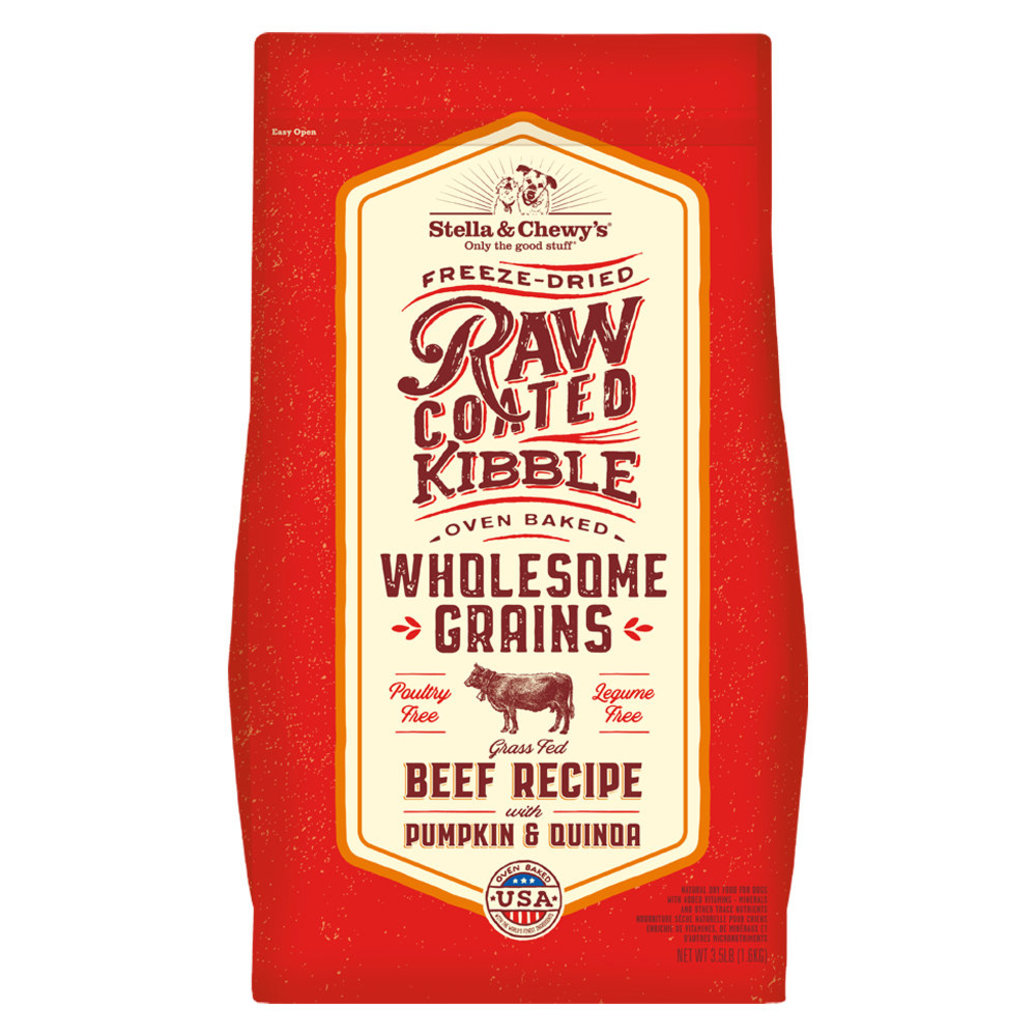 View larger image of Dog Raw Coated Kibble With Wholesome Grains, Grass-Fed Beef