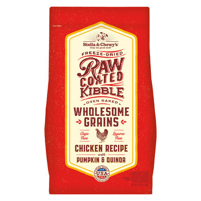 Dog Raw Coated Kibble With Wholesome Grains, Cage-Free Chicken