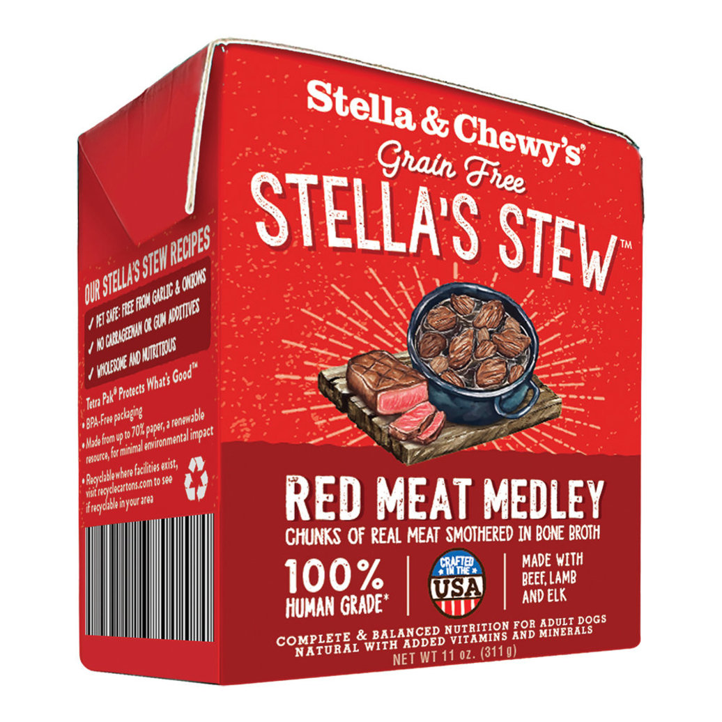 View larger image of Dog Stella's Stew, Red Meat Medley - 312 g