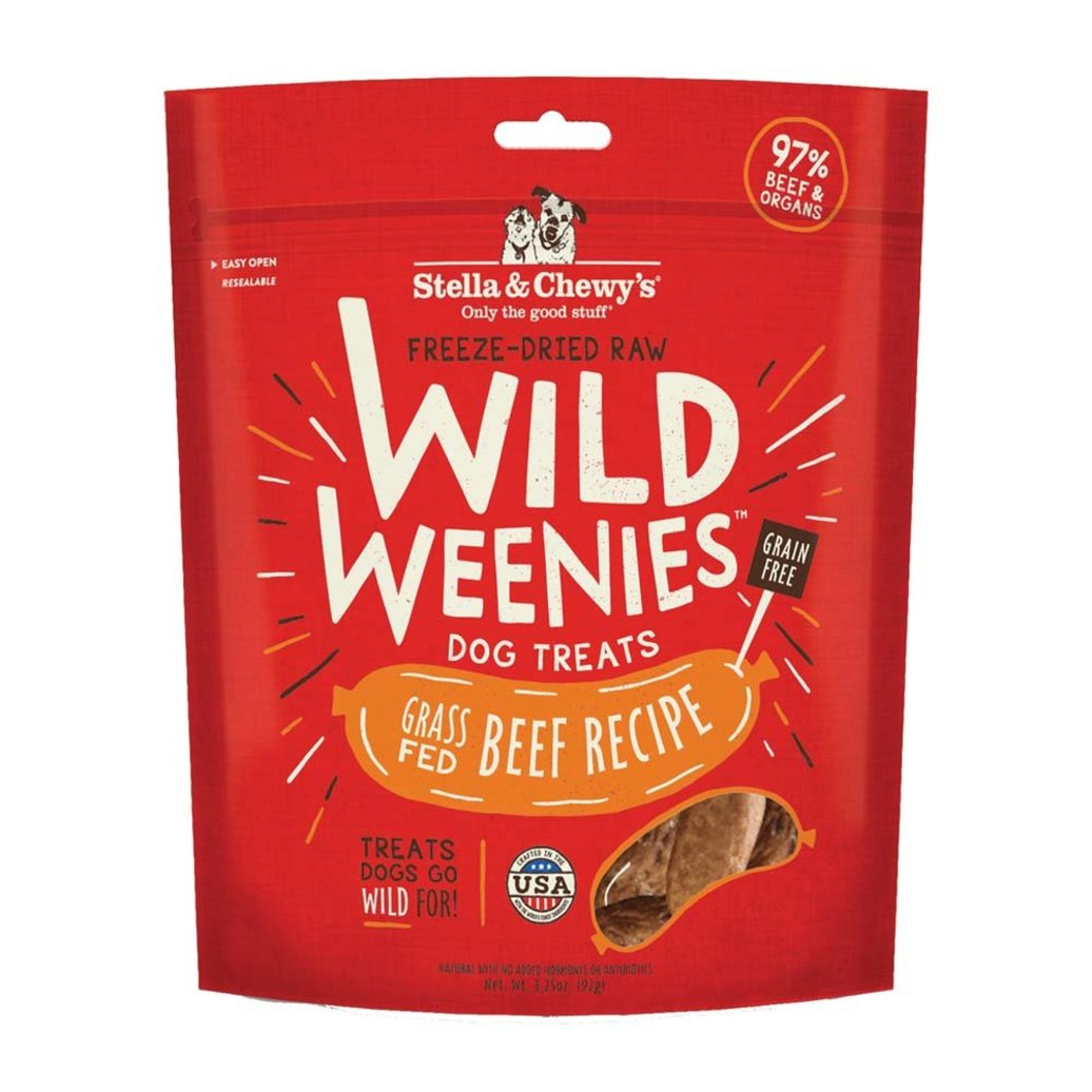 View larger image of Freeze-Dried Raw Beef Wild Weenies Dog Treats - 92 g