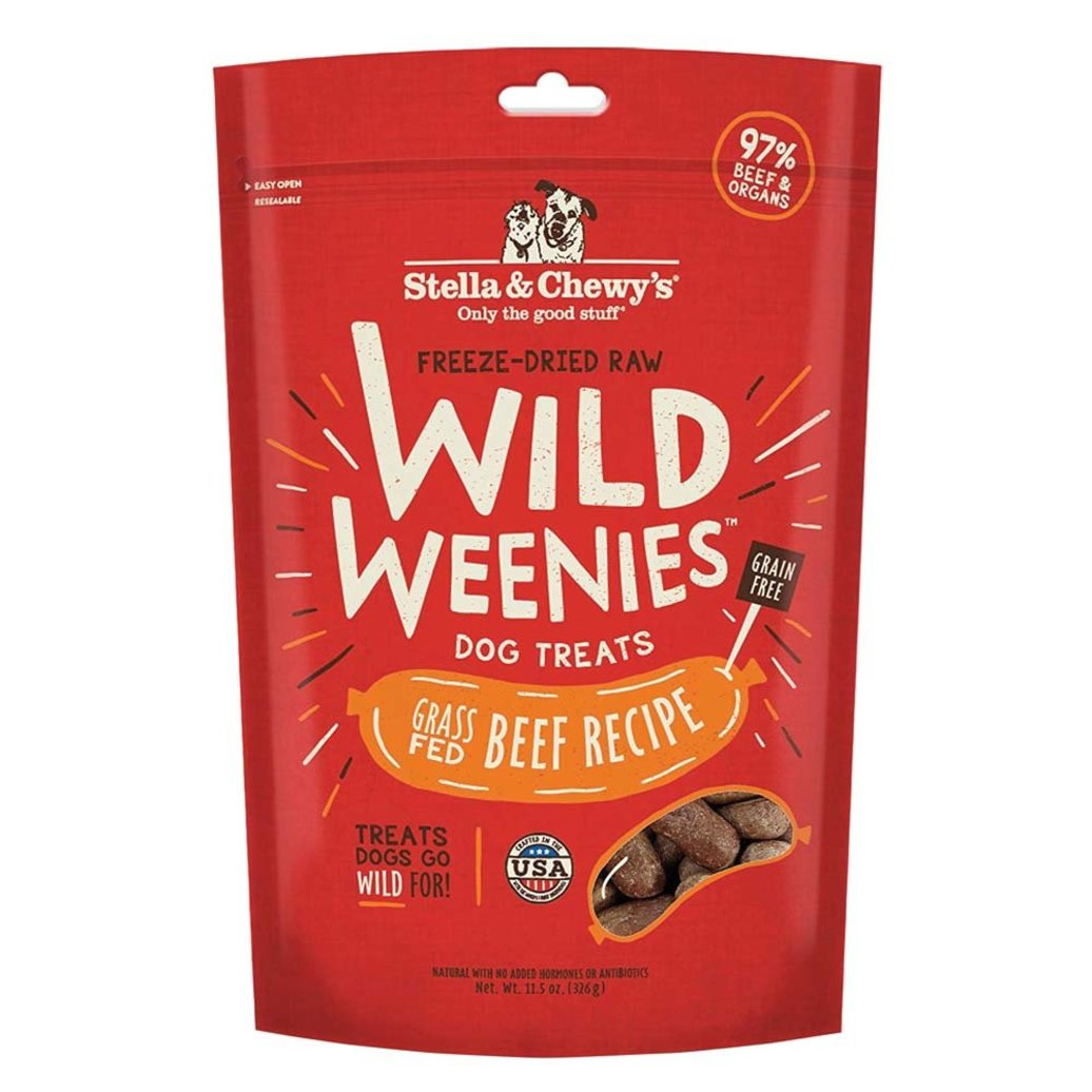 View larger image of Freeze-Dried Raw Beef Wild Weenies Dog Treats - 326 g