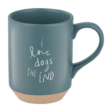 Stoneware New York Mug Dogs The End