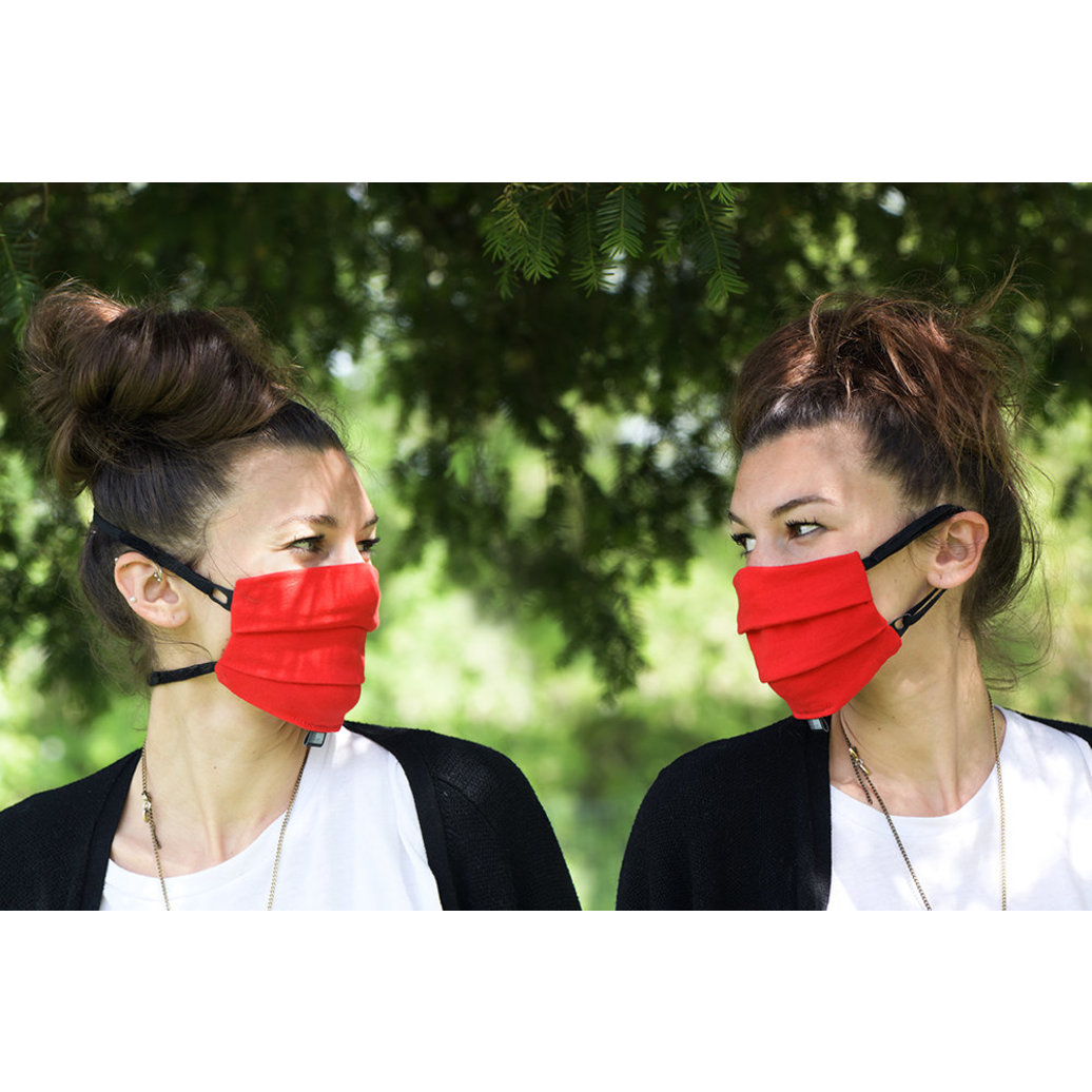 View larger image of Adult - Facemask - Red