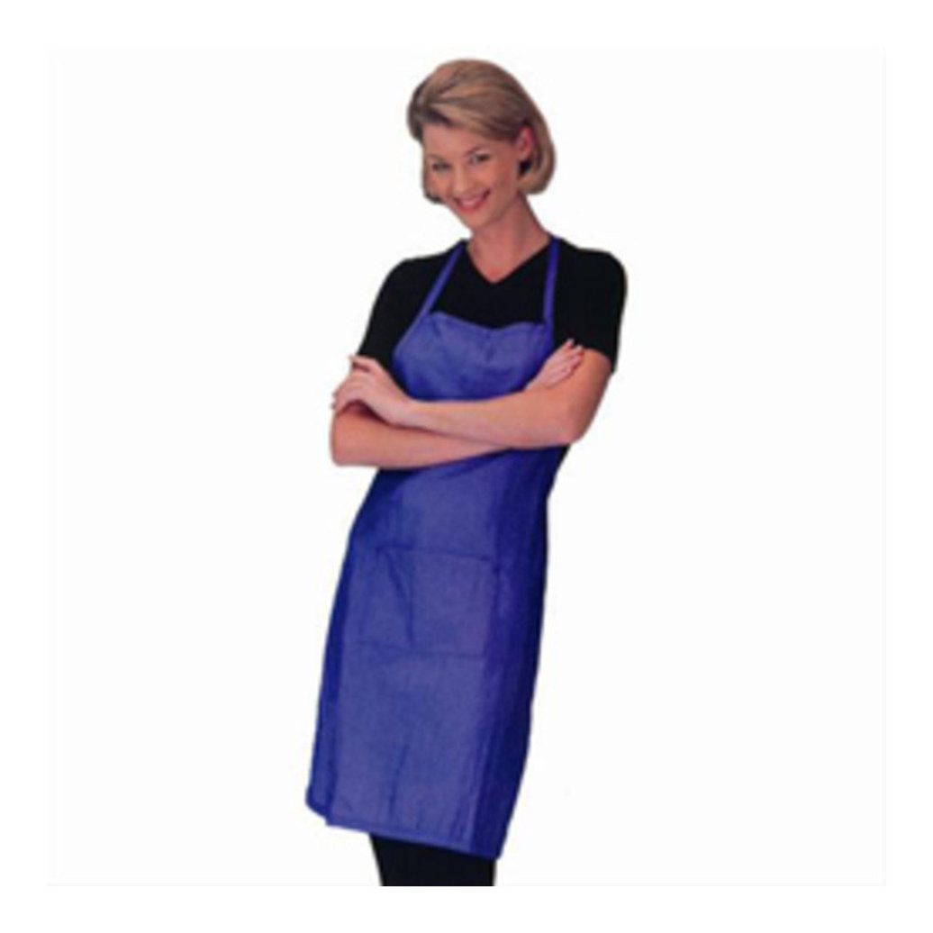 View larger image of Bib Apron, Ribstop - Blue
