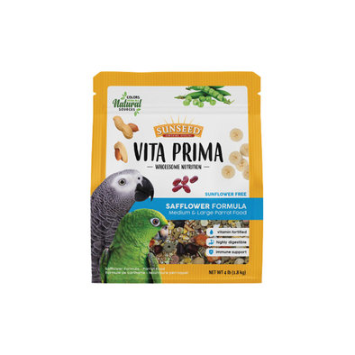 Vita Prima - Large Parrot w/ Safflower - 1.81 kg