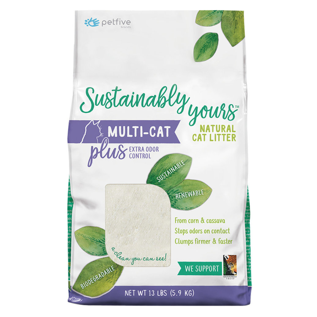 View larger image of Sustainably Yours, Biodegradable Litter - MultiCat Odour Control