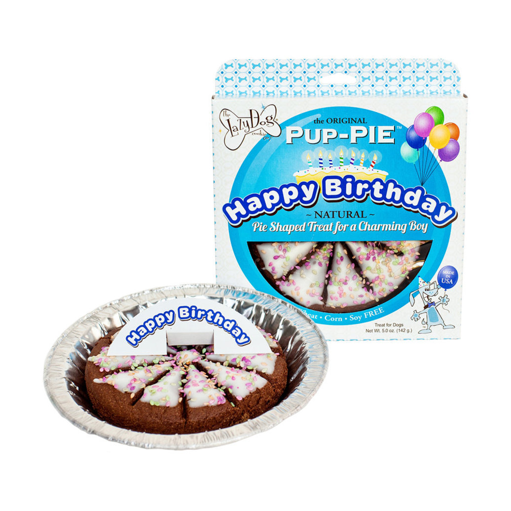 View larger image of The Lazy Dog Cookies Co., PUP-PIE, Happy Birthday for a Charming Boy - 142 g