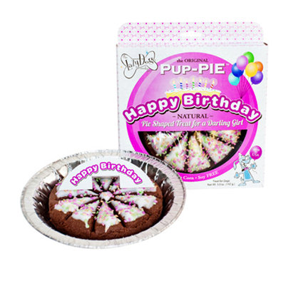 The Lazy Dog Cookies Co., PUP-PIE, Happy Birthday for a Darling Girl - 142 g