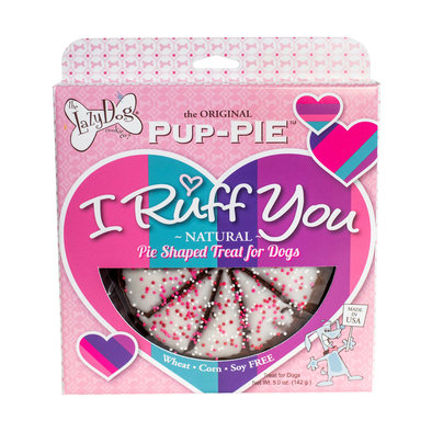 The Lazy Dog Cookies Co., PUP-Pie, I Ruff You - 142 g