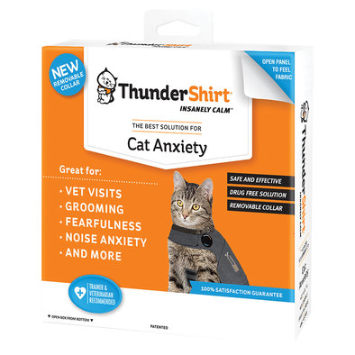 ThunderShirt for Cats - Heather Grey