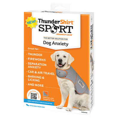 ThunderShirt for Dogs - Heather Grey