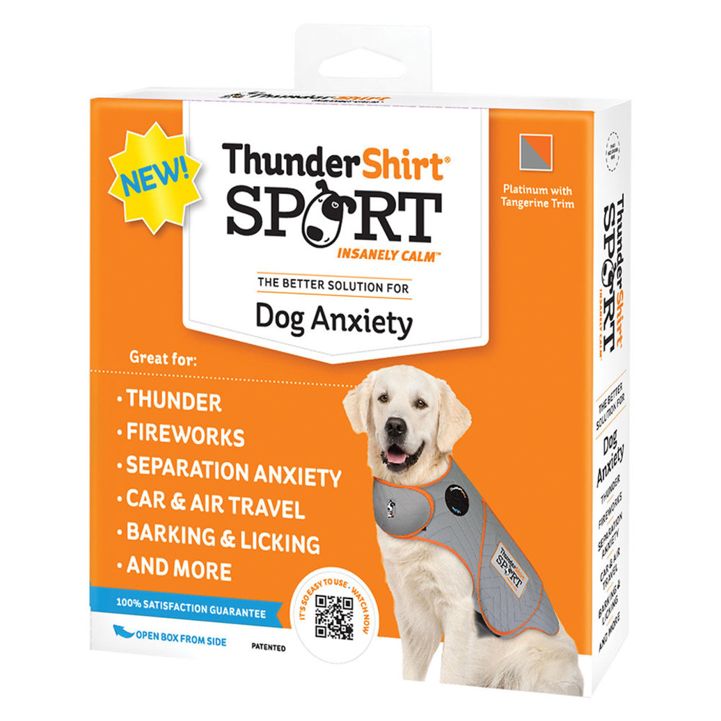 View larger image of ThunderShirt for Dogs - Heather Grey