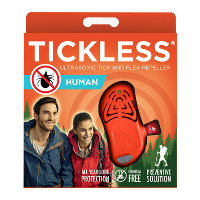 Human Ultrasonic Tick & Flea Repeller