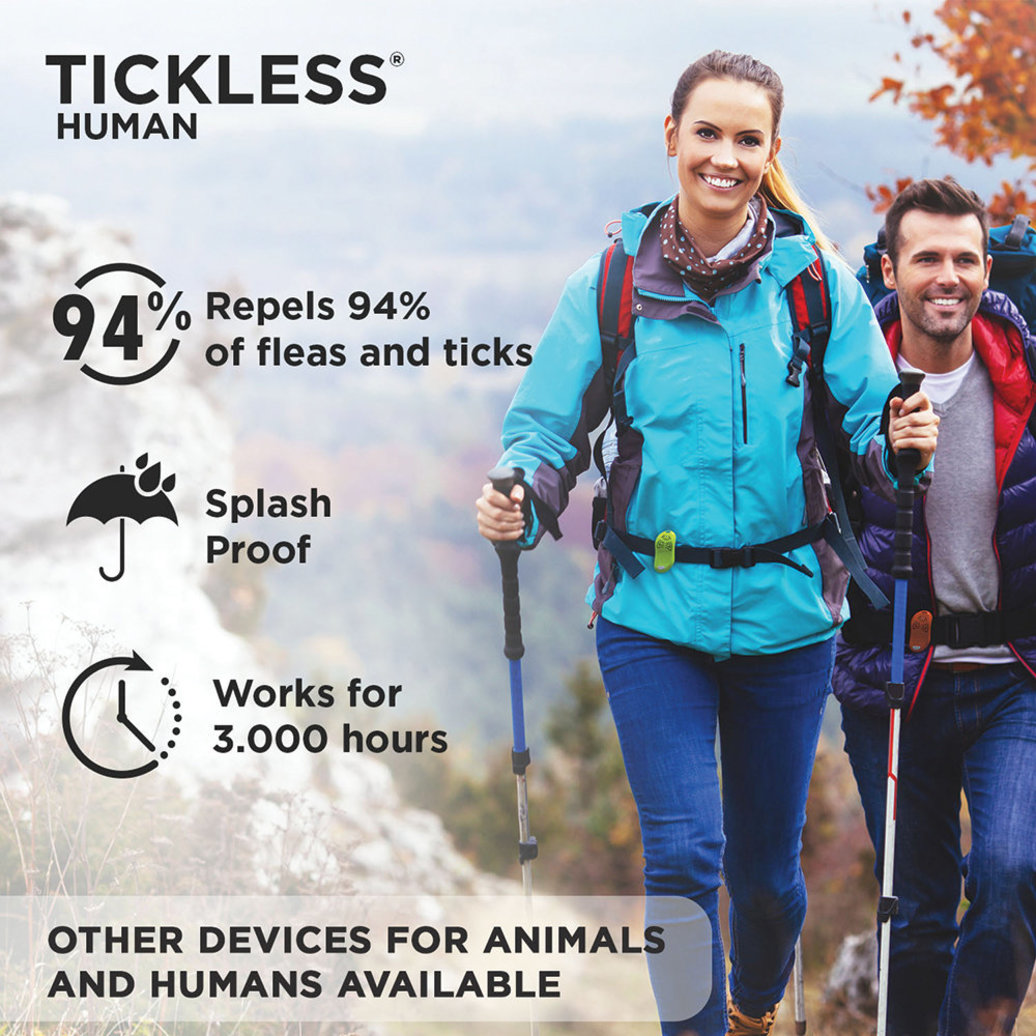 View larger image of Human Ultrasonic Tick & Flea Repeller