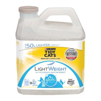 LightWeight with Glade Clumping Cat Litter