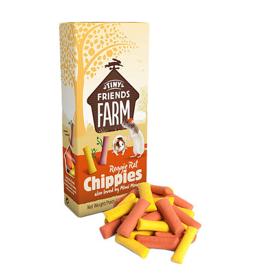 Reggie Rat & Mimi Mouse Chippies - 119 g