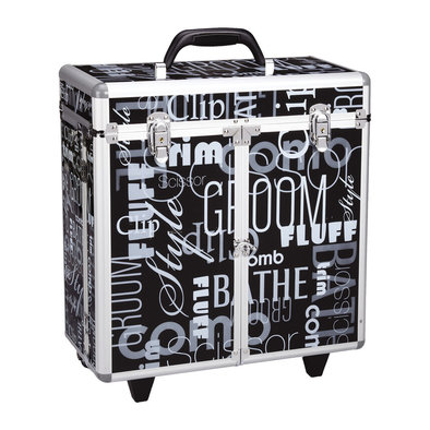 Groom Tool Case w/Wheels - Black