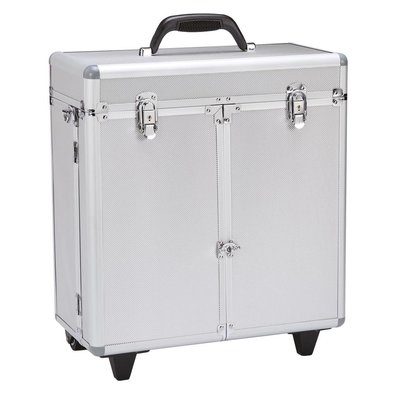 Groom Tool Case w/Wheels - Silver