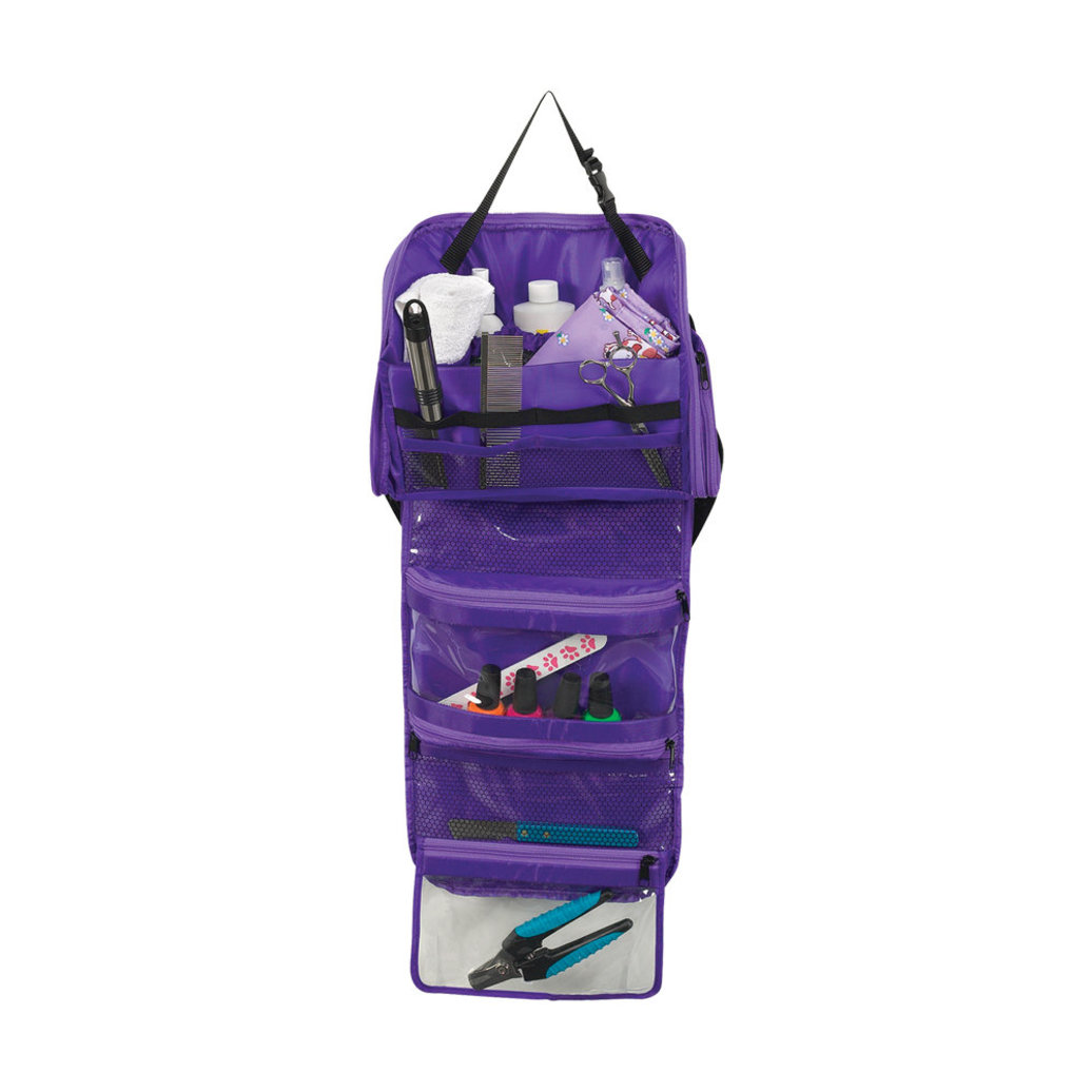 View larger image of Groomer On The Go Bag - Purple