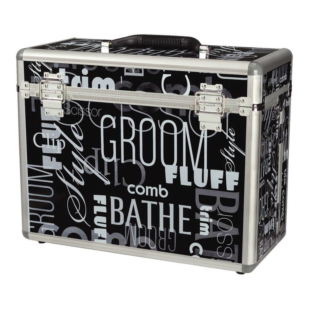 View larger image of Grooming Tool Case Graffiti - Black