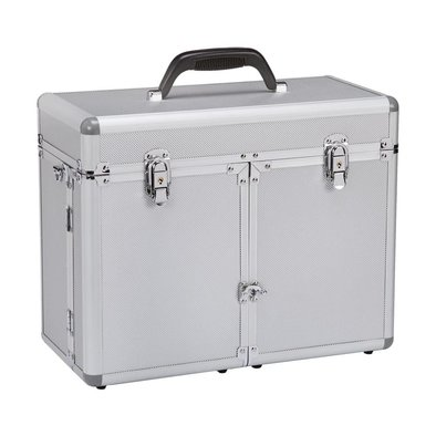 Professional Groom Tool Case - Silver
