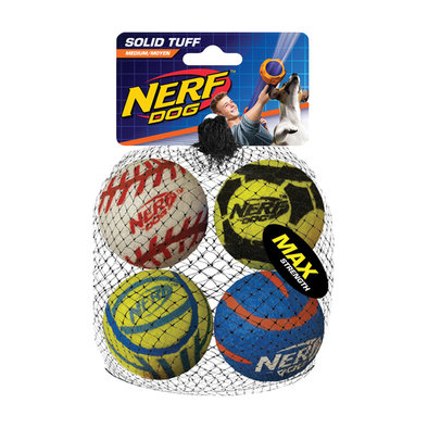 Tough Sports Balls - Medium - 4 Pk
