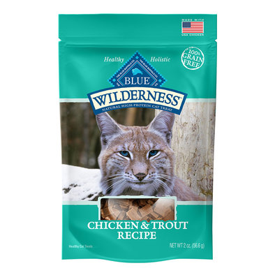 Treat,Feline Adult-Wilderness-Chicken&Trout - 56 g