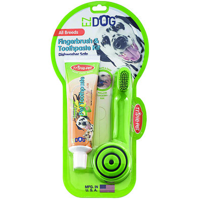 Finger Toothbrush & Toothpaste Kit
