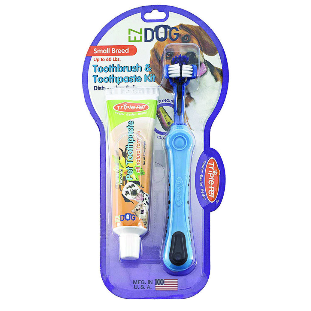 View larger image of Toothbrush & Toothpaste Kit - Vanilla - Small