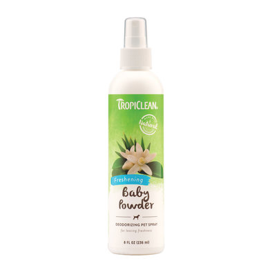 Baby Powder Deodorizing Pet Spray - 8 oz