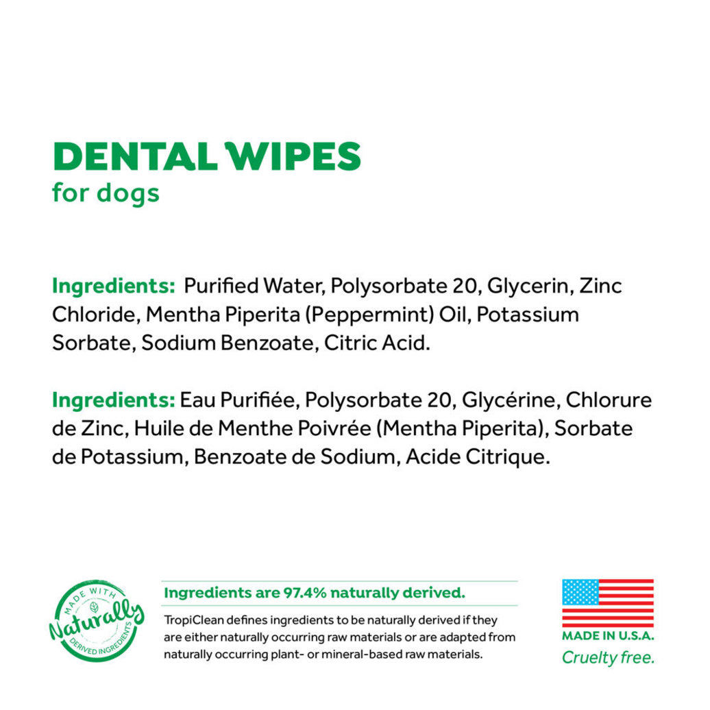 View larger image of Dental Wipes for Dogs - 50 ct