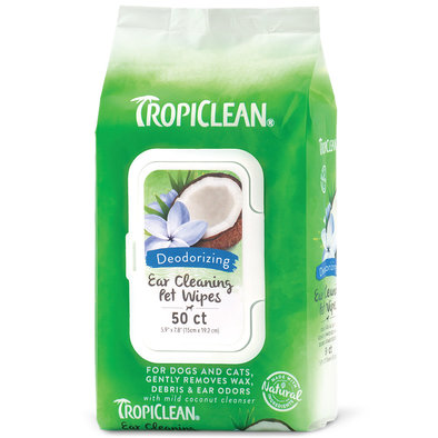 Ear Cleaning Wipes - 50 ct