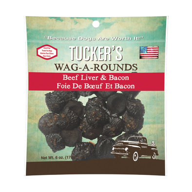 Wag-A-Round - Beef & Bacon - 170 g