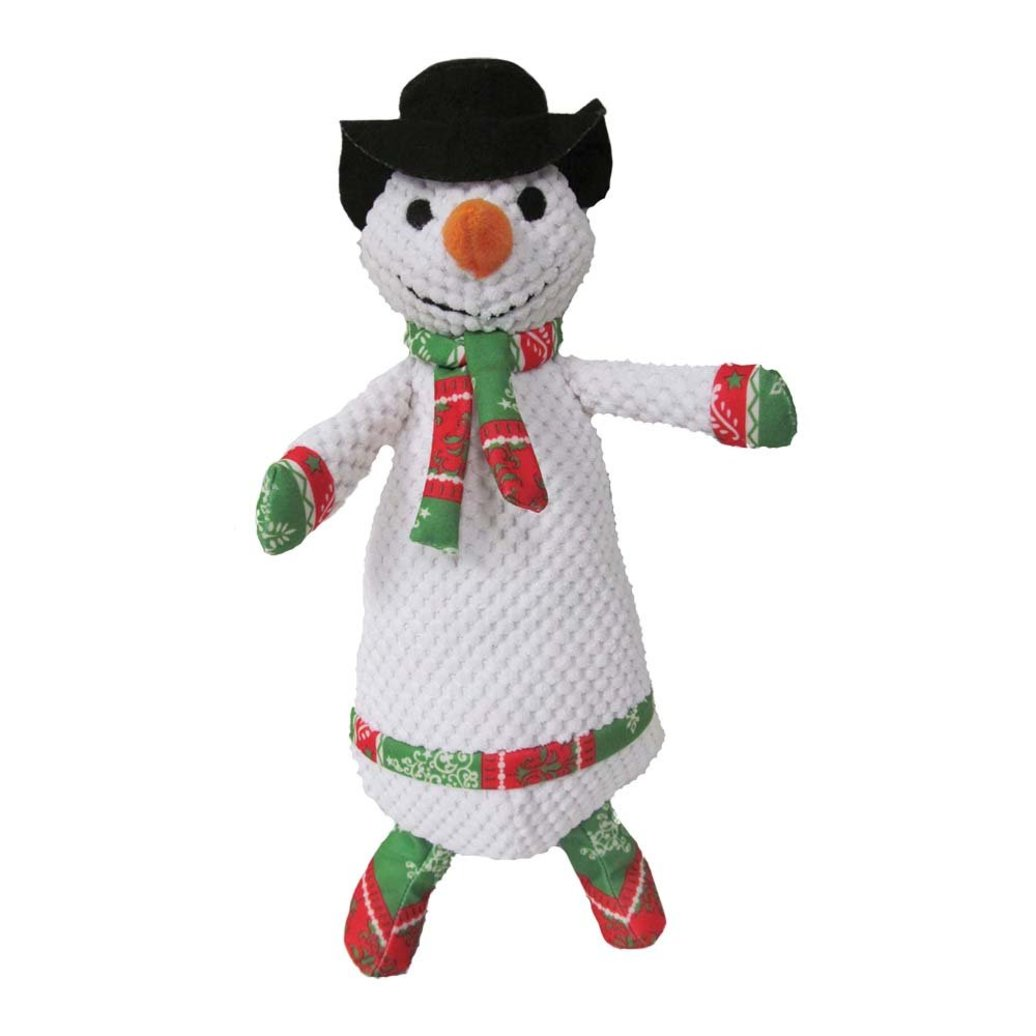 """View larger image of Plush Pearl Snowman - 15"""""""