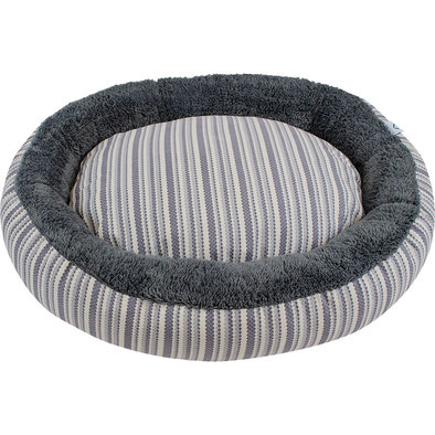 Donut Bed - Grey Diamond