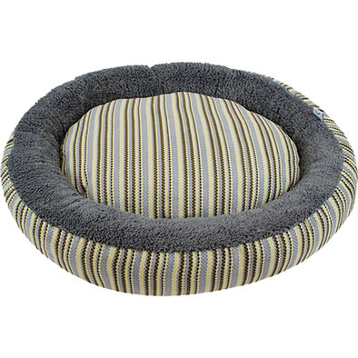Donut Bed - Taupe Diamond