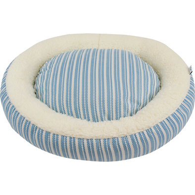 Donut Bed - Teal Diamond