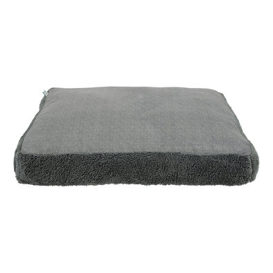 Slab Bed - Faux Solid Charcoal